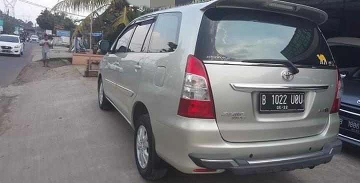 Toyota Innova G MT Diesel 2012 Tangan Pertama Service Record