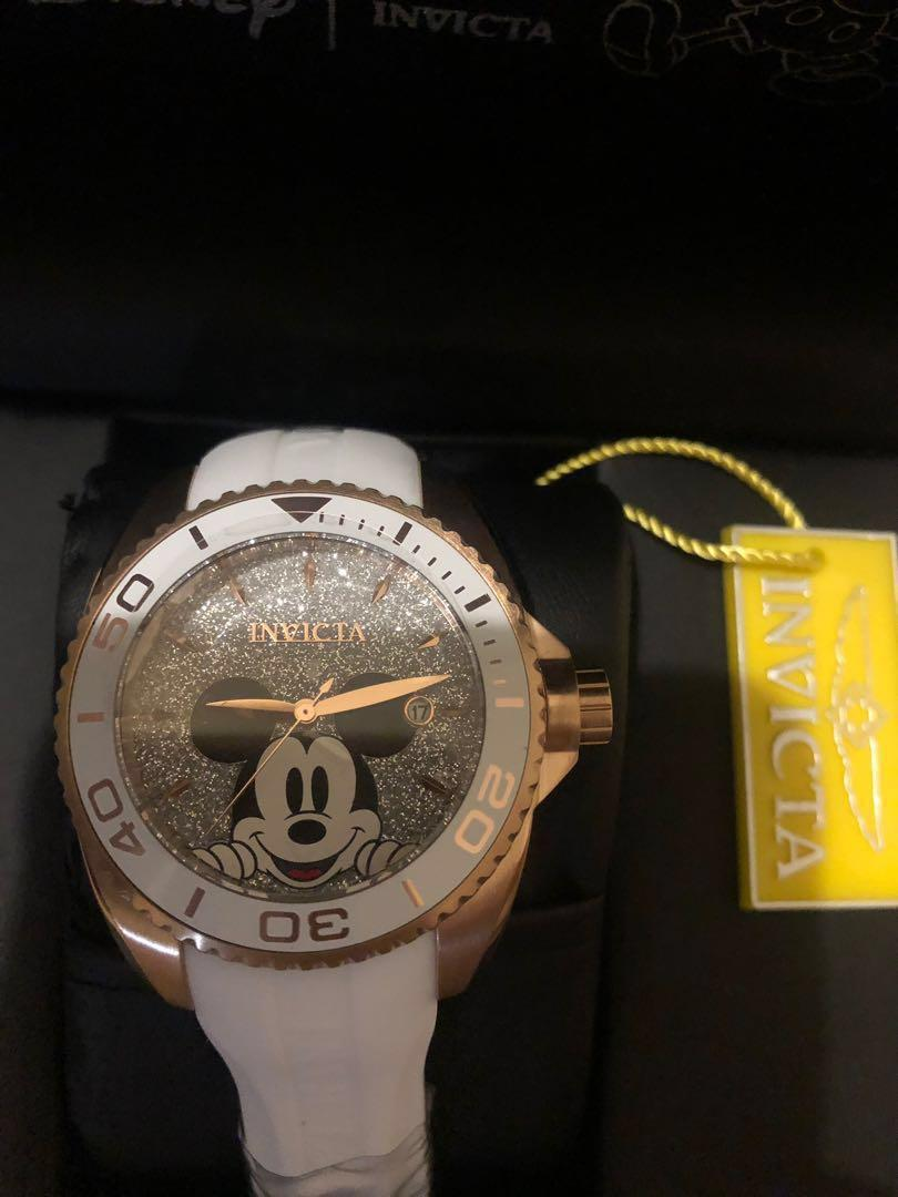 Invicta - Disney Mickey Mouse Limited Edition Rose Gold Watch