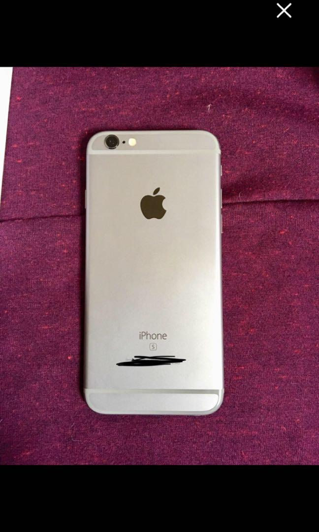 iPhone 6s 128gb space grey