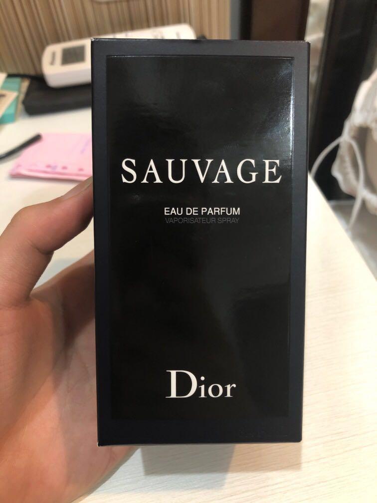Jual Dior Sauvage Eau de Parfum ( EDP ) Original Bekas 100ml
