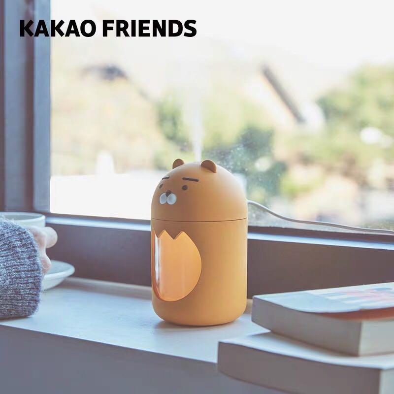 Kakao friends RYAN 小夜燈加濕器