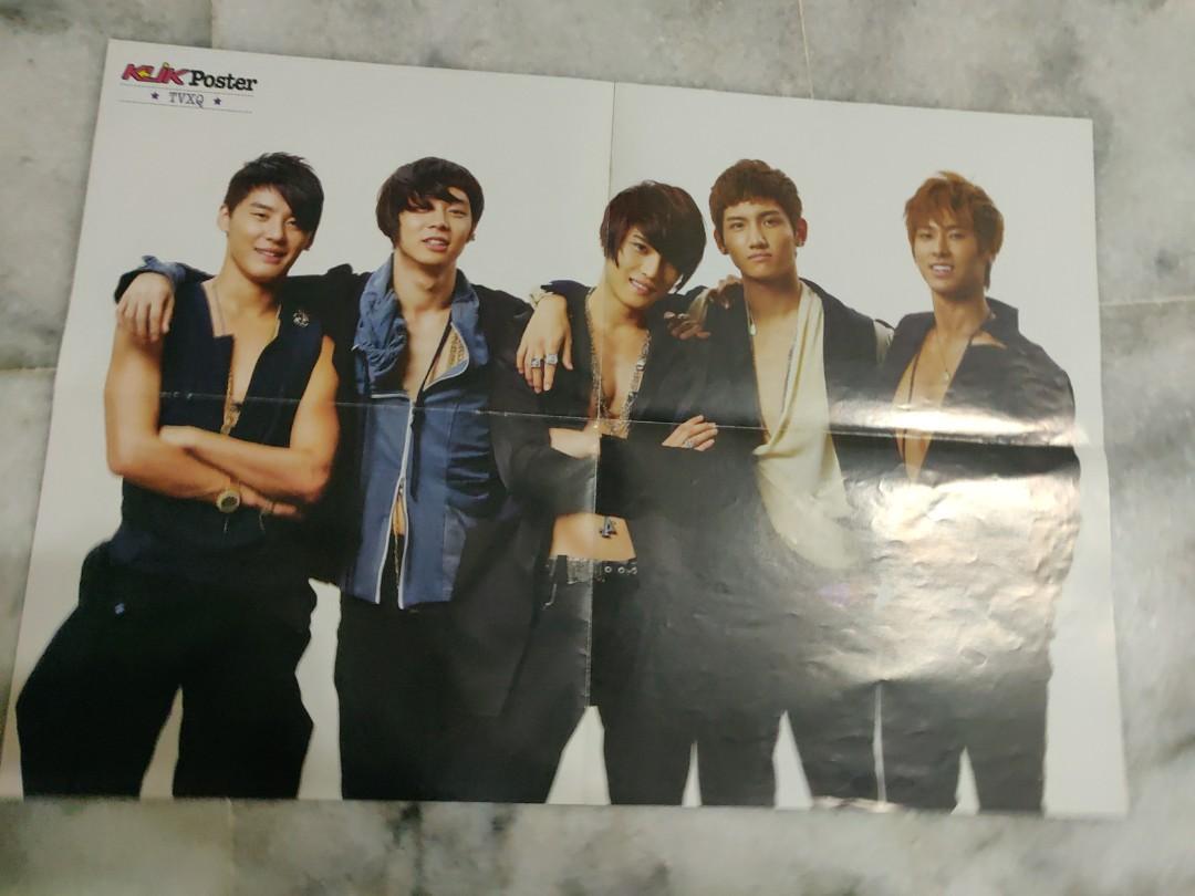 WTS KLIK & EPOP KPOP Posters ~ TVXQ/DBSK, BIG BANG, KIM BUM, KIM HYUN JOONG