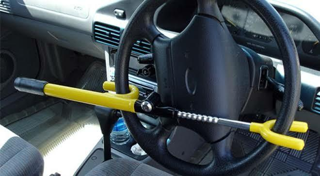 Kunci Stir Mobil T-Style Lock Yellow