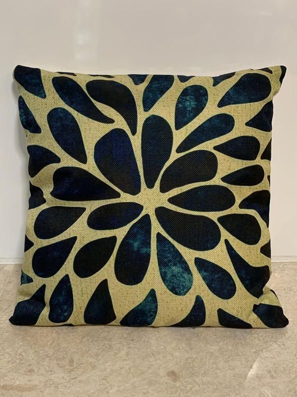 Linen Sofa Graphic Cushion Cover (SDJ-002)