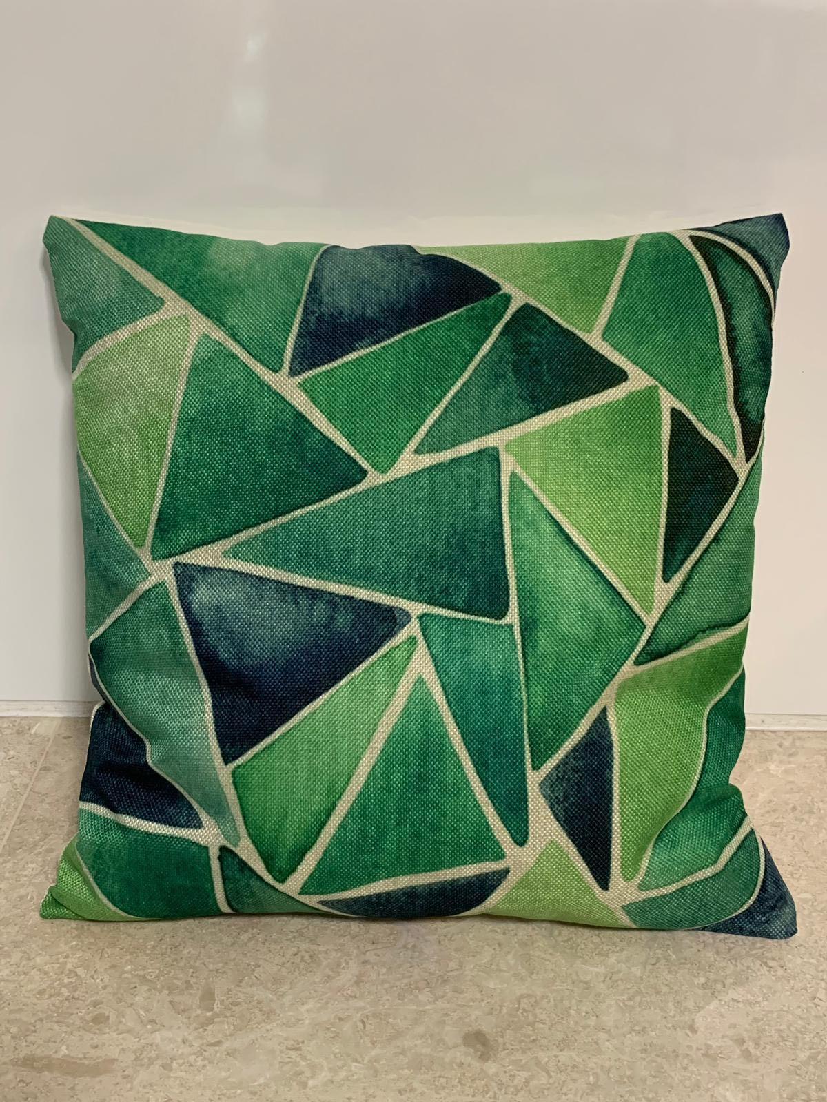 Linen Sofa Graphic Cushion Cover (SDJ-003)