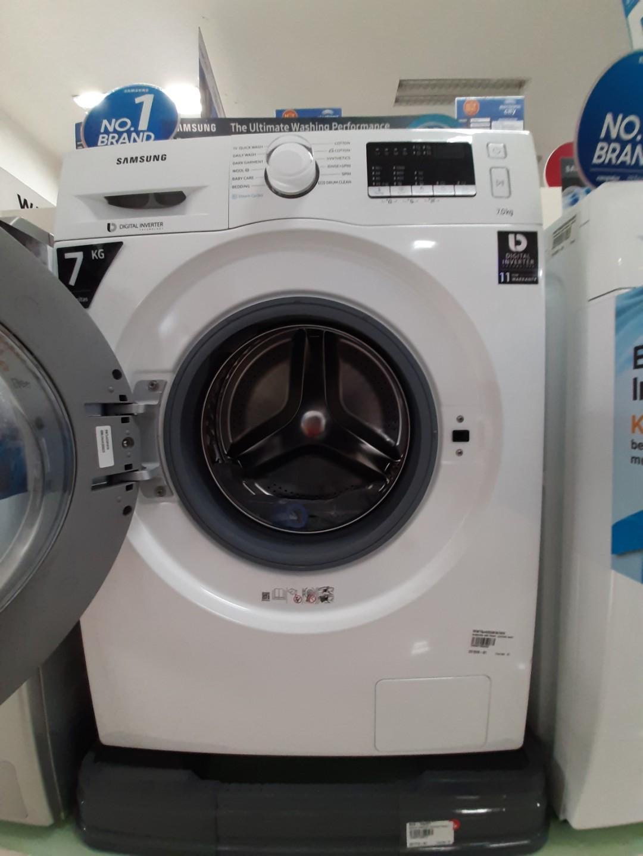 Mesin Cuci Samsung 7KG Cicilan Tanpa Kartu Kredit Free 2 Kali Angsuran