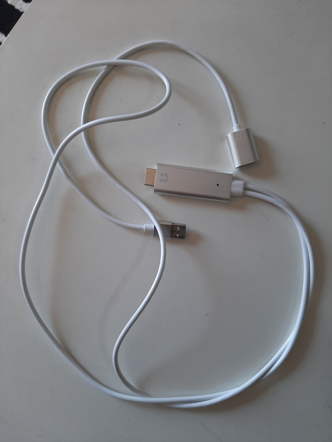 MHL cable (connect phone to tv)