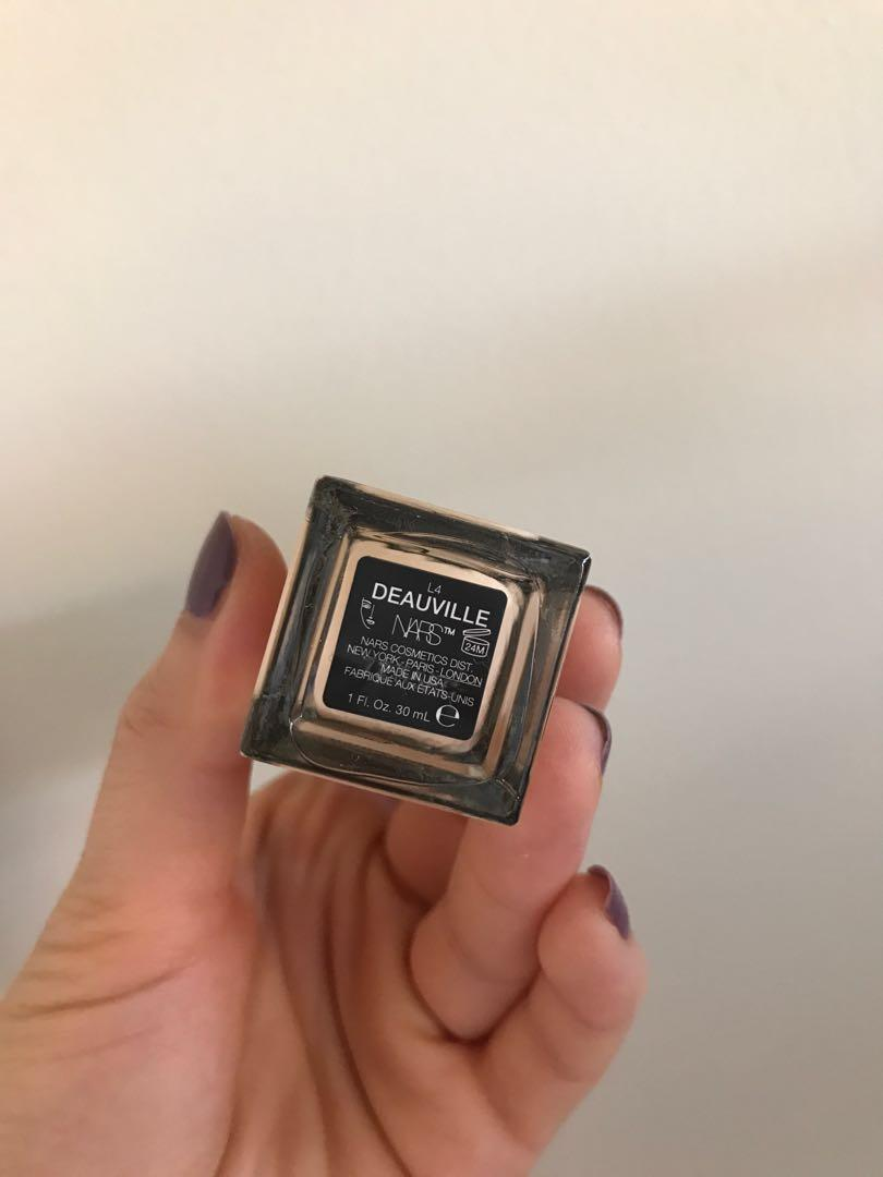 NARS Natural Radiant Longwear Foundation in Deauville