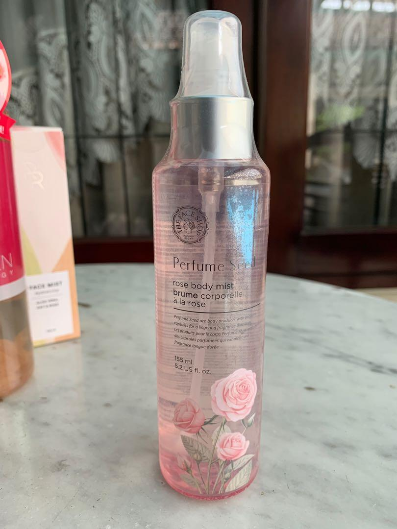 *NEW* THE FACE SHOP Perfume Seed Rose Body Mist