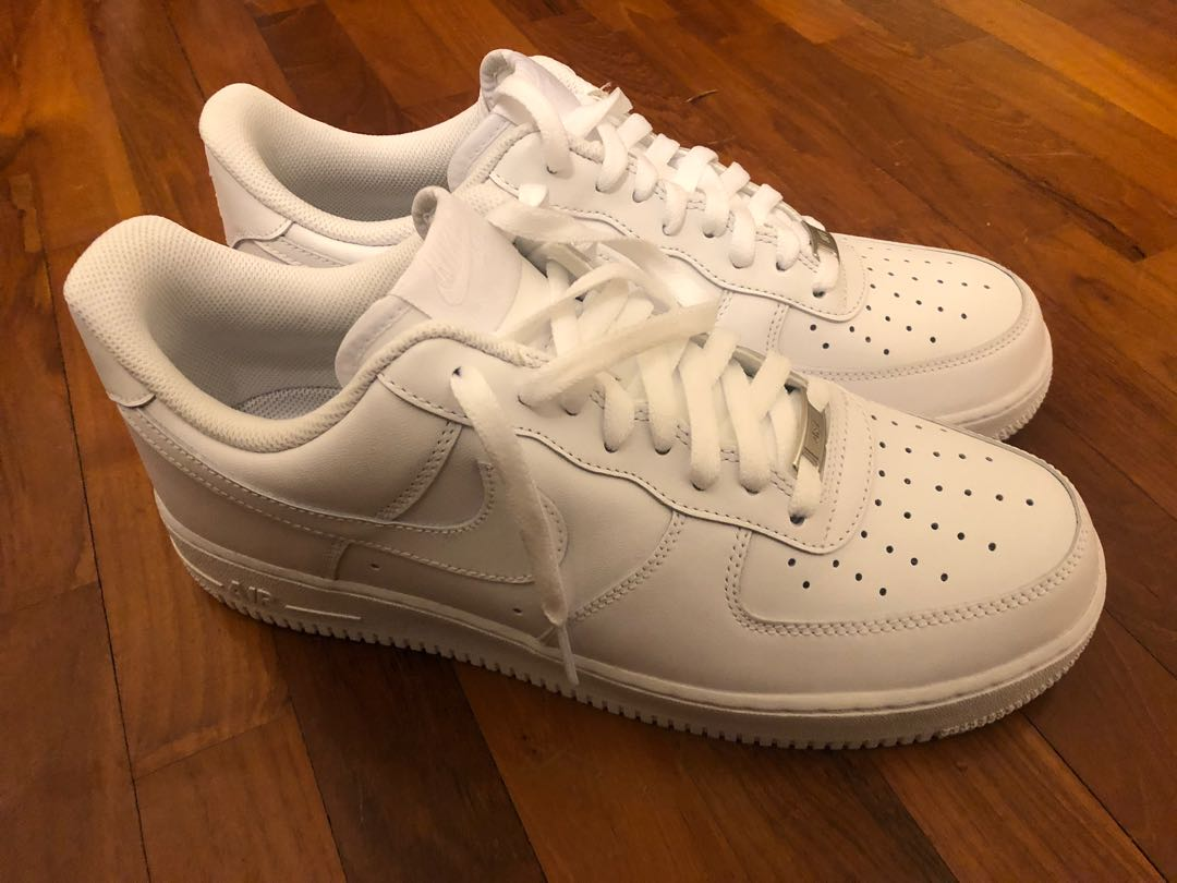 6146e65f21 Nike Air Force 1 '07 White Classic, Men's Fashion, Footwear, Sneakers on  Carousell