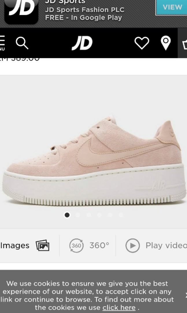 Nike Air Force 1 Sage Low Particle Beige Women S Fashion Shoes