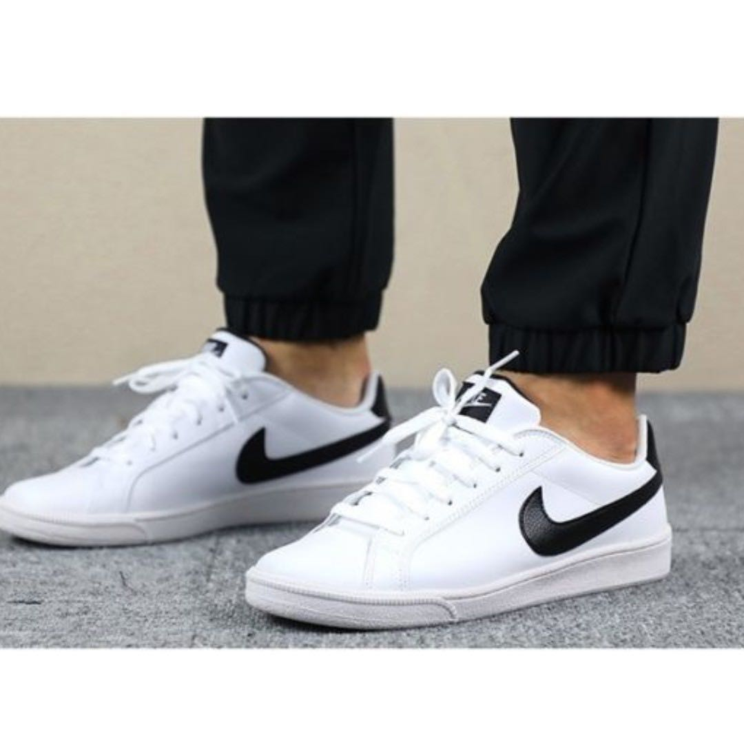 ec2c7653 Nike Court Majestic Leather Men's Casual Shoes Size US12 White/Black ...