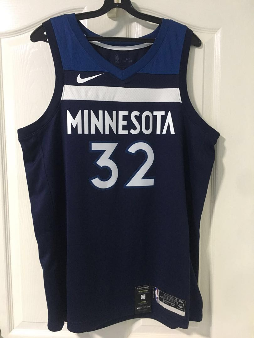 wholesale dealer 1f09d 1f9e2 Nike NBA Jersey Minnesota Timberwolves Karl-Anthony Towns