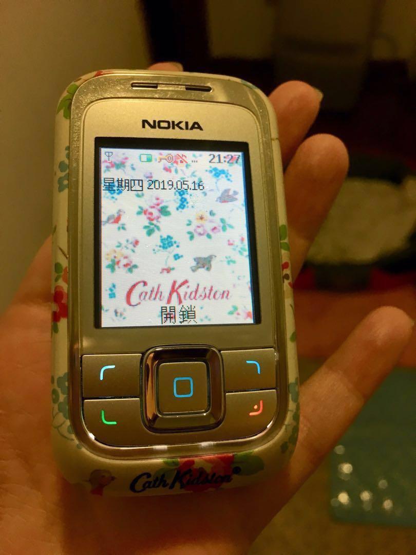 Nokia 6111 x cath kidston vintage 手提電話