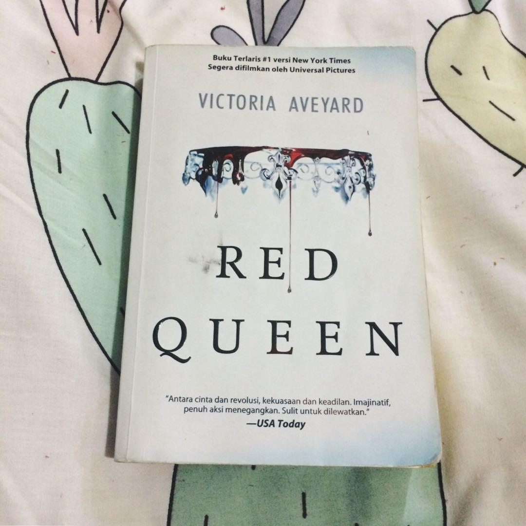 Novel Red Queen