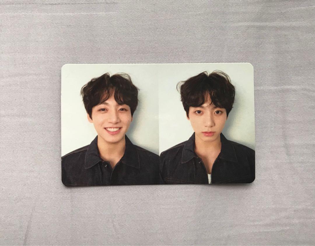 official jungkook photocard