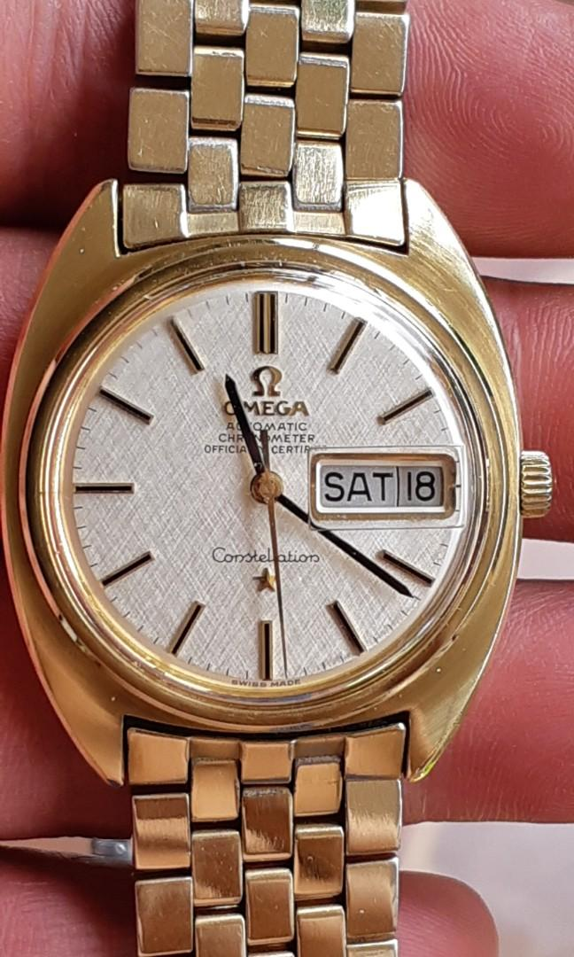Omega Constellation Gold Coin