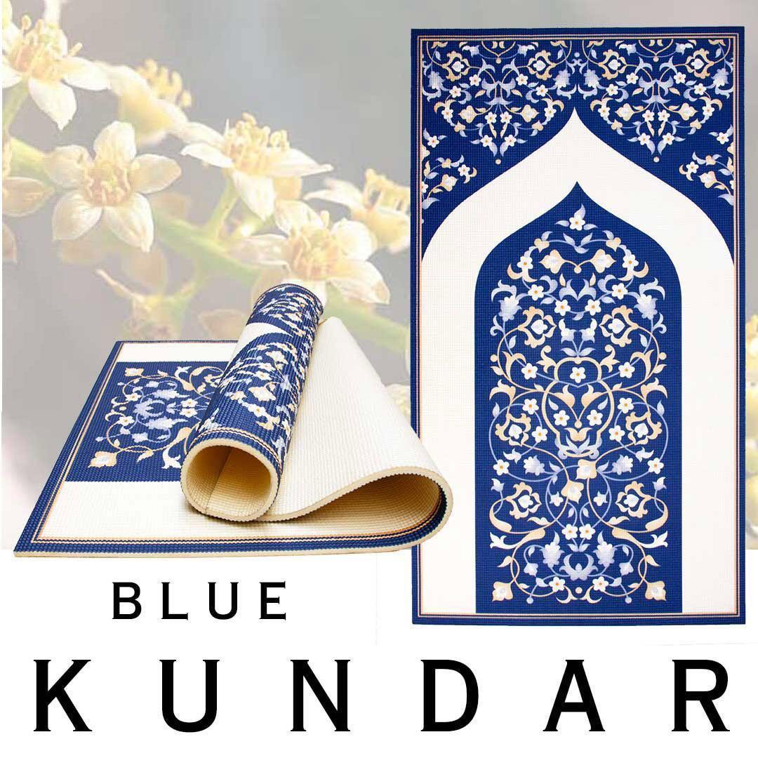 🔥Ready Stock! : Sejadah Orthopaedic/ Orthopedik - Blue Kundar