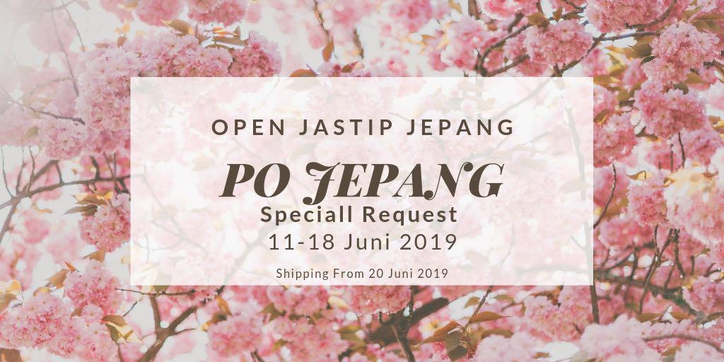 Open Jastip Japan Jepang 🇯🇵 Juni 2019