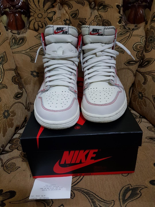 Original Nike Air Jordan 1 Retro High OG Phantom