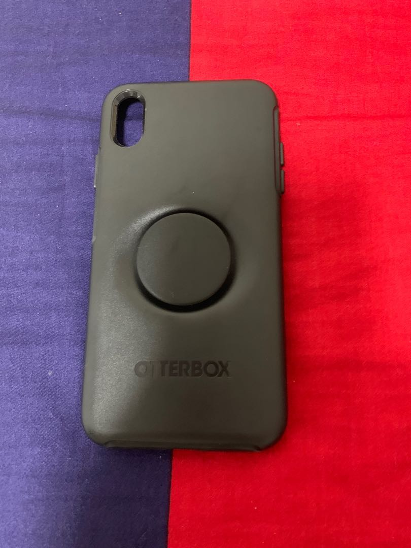 huge discount 9d457 cf833 Otterbox with popsocket for iPhone xs max