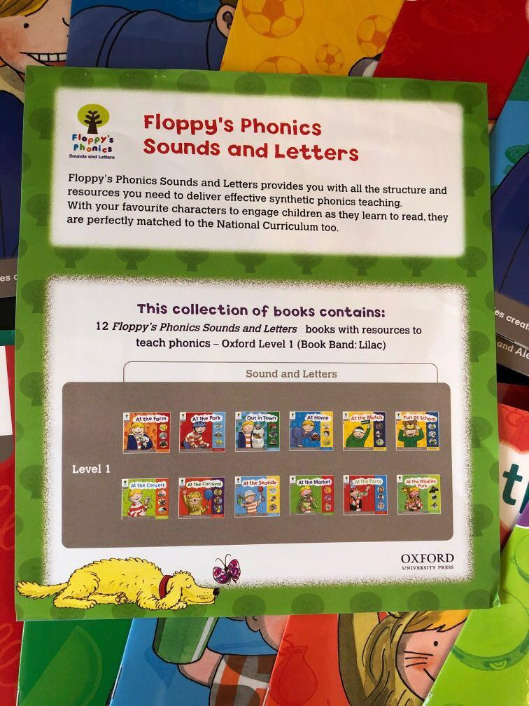 Oxford Reading Tree: Floppy Phonics Sounds & Letters Level 1