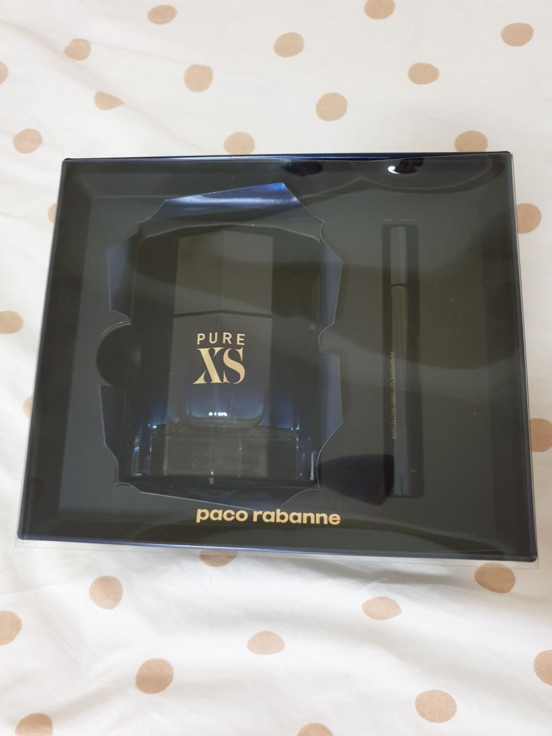 Paco Rabanne Pure XS for Him 100ml Set