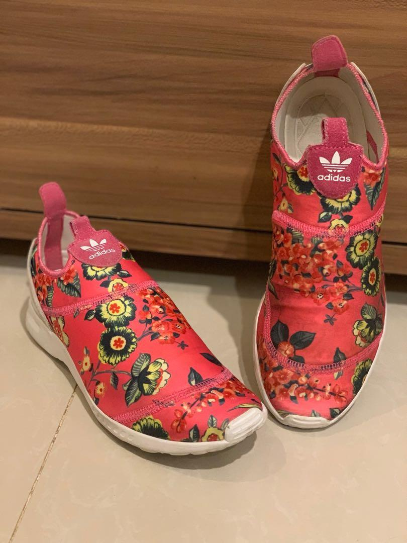 Preloved adidas torsion pink