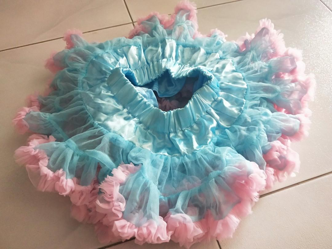 Premium Blue Tutu Skirt Sz S. #MRTRaffles