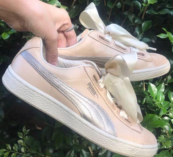 Puma Satin Shoes, Women's Fashion