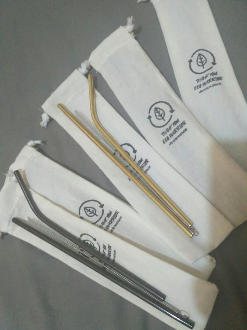Sedotan Steinless / Steinless Straw Murah