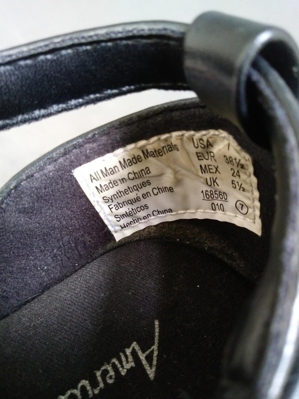 "Sepatu wanita ""American Eagel"" uk 38 1/2 #mauvivo"