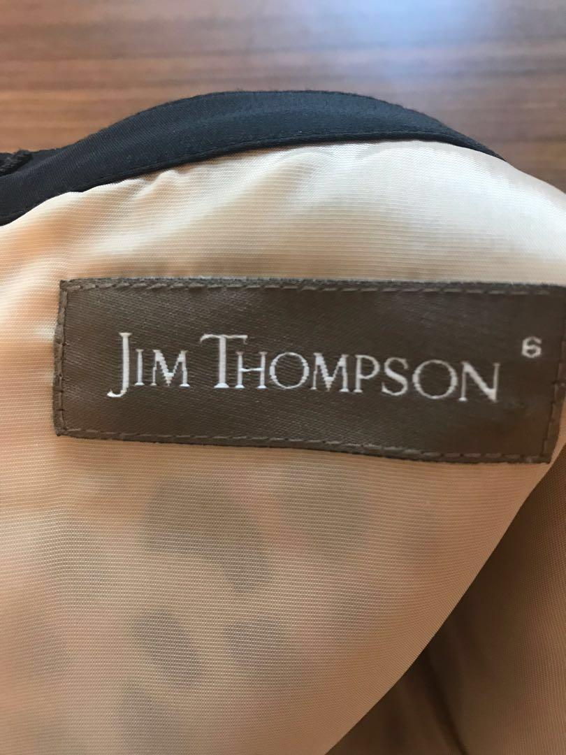 Silk dress Jim Thompson
