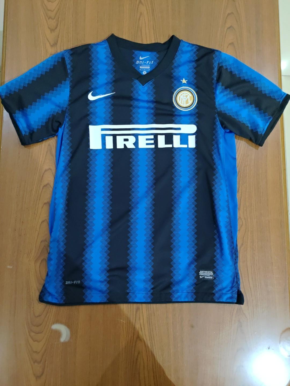Size M Jersey Inter Milan Home 2010 11 Olah Raga Baju Olahraga Di Carousell