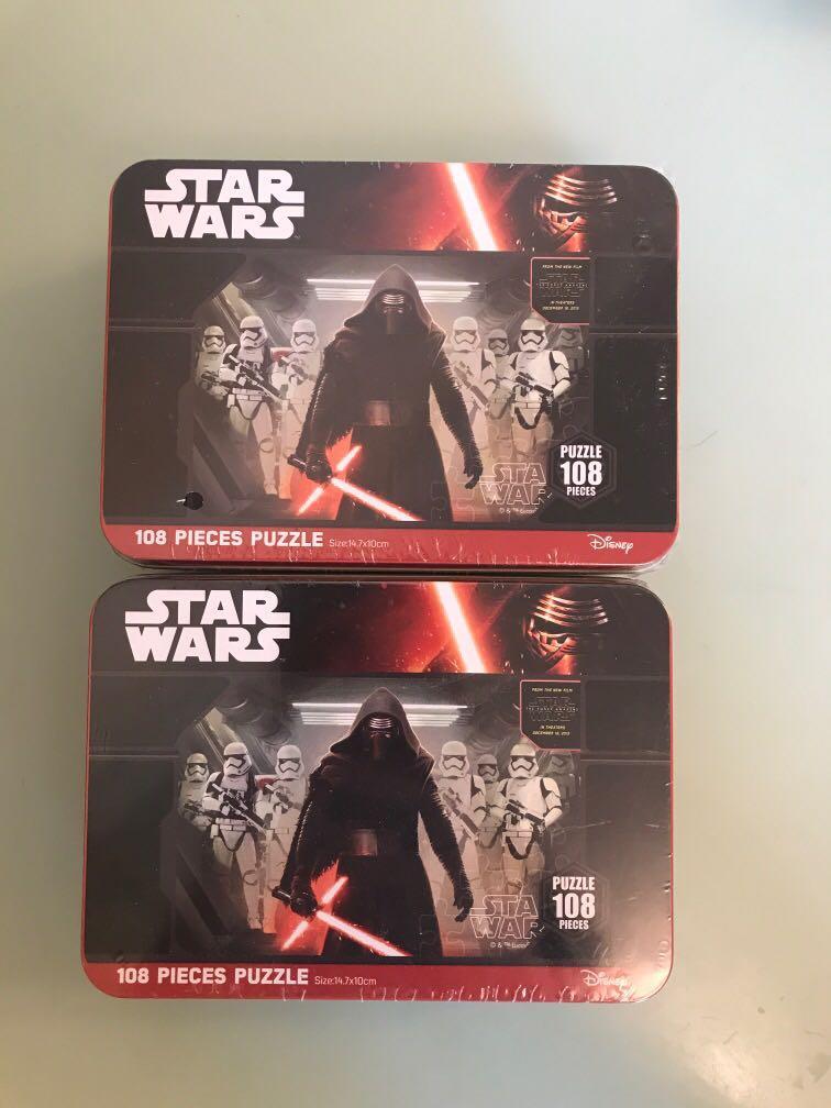 Star Wars puzzle 星球大戰 拼圖