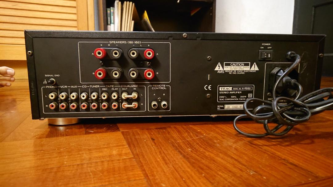TEAC A-R500 Integrated Stereo Amplifier