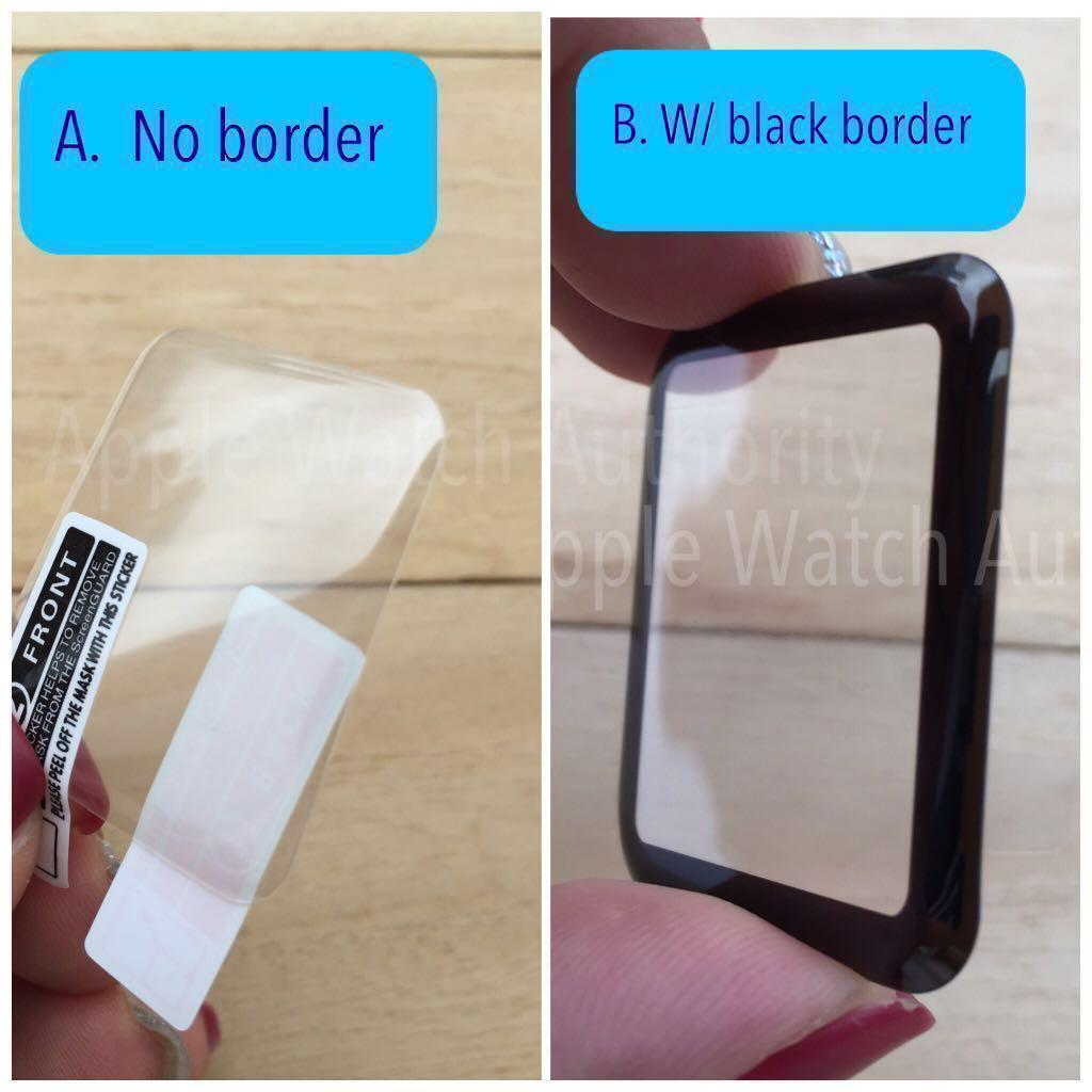 Tempered Glass / Screen Protector for Apple Watch