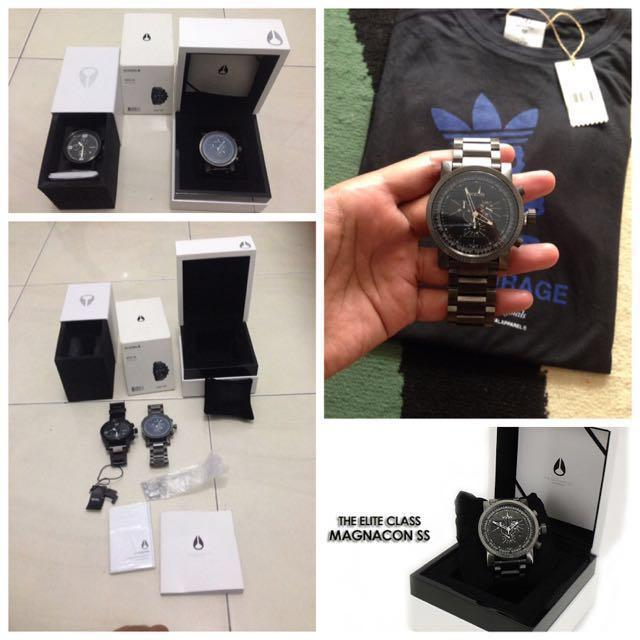 The Elite Class Nixon Magnacon SS Gunmetal 1/2 Harga Counter
