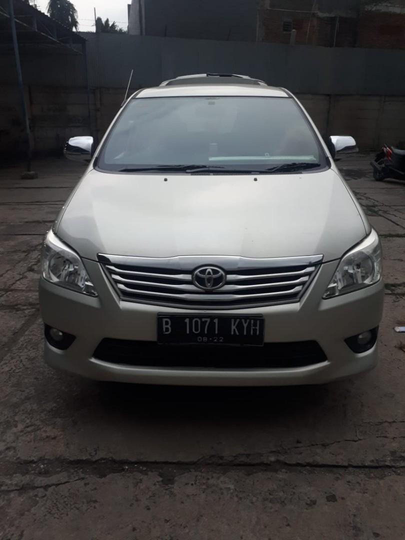 Toyota Kijang Innova G 2.0 A/T Tahun 2013
