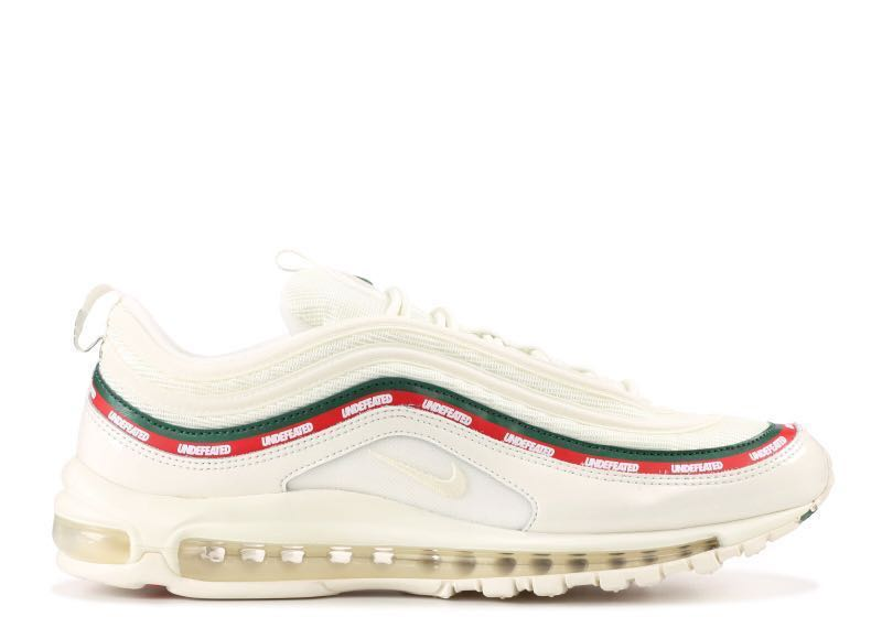 244ad0eafc (US8.5) Undefeated x Nike Air Max 97 White, Men's Fashion, Footwear,  Sneakers on Carousell