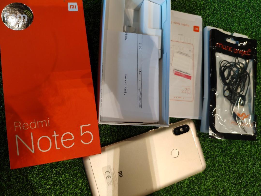 Xiaomi Redmi Note 5 RAM 4/64 GB MIUI GLOBAL