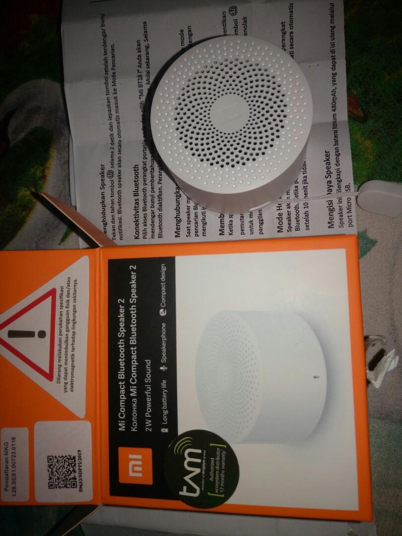 Xiomi speaker bluetooth ada 2 jenis
