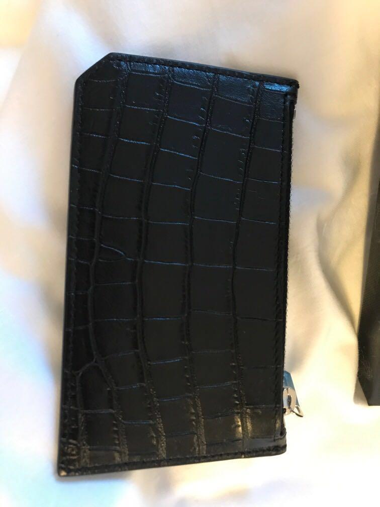 YSL Fragments Card Case
