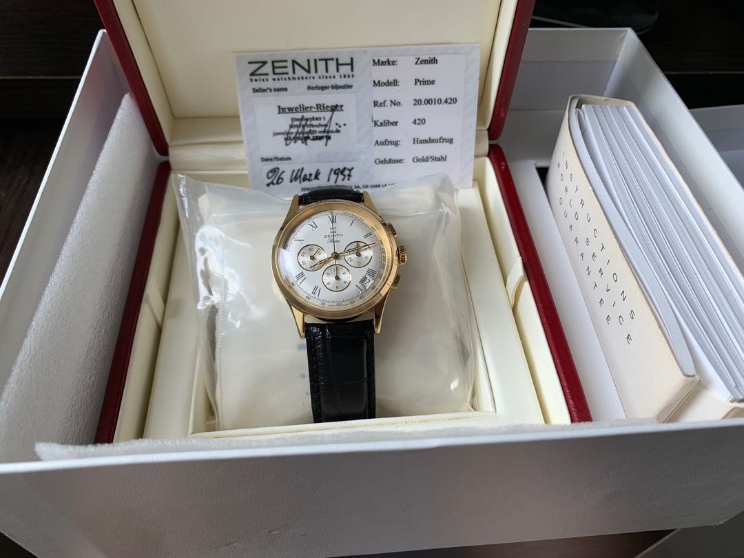Zenith Prime 20.0010.420