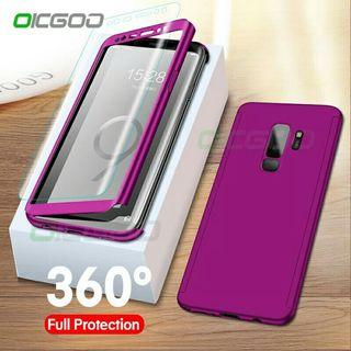 360 Degree Cover Phone Case For Samsung Galaxy S9 S8 Plus