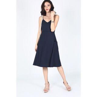 🚚 [Love, Bonito] Reselda Dress In Navy