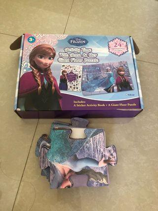 Frozen Puzzle Lantai Besar. (Frozen Large Floor Puzzle)