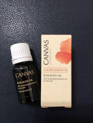 canvas rose body oil #newbieMay19