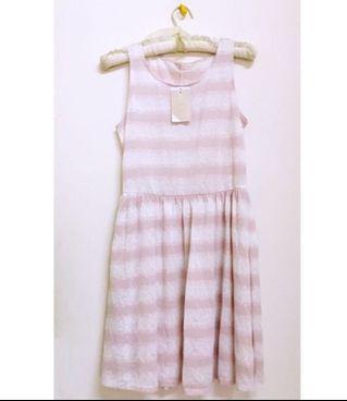 全新0918粉嫩漸層洋裝(xs-s)/原價3980