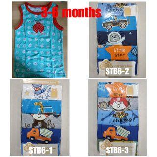 💌FREE MAILING💌Carter's sleeveless Tshirt for boy 3-24 months